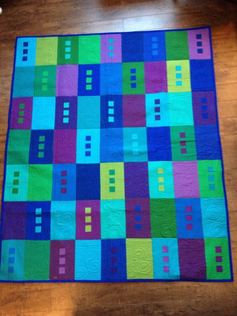 Cool Solids Quilt