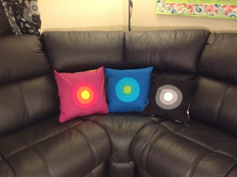 Portholes Pillows