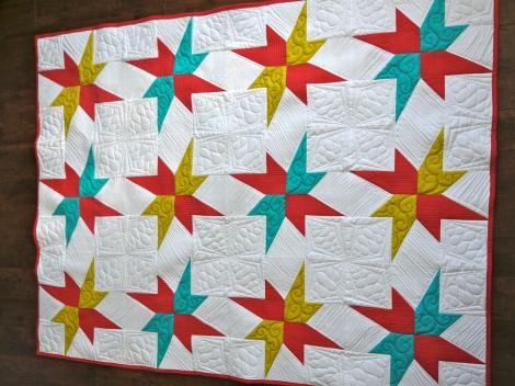 AccuQuilt Stars Quilt