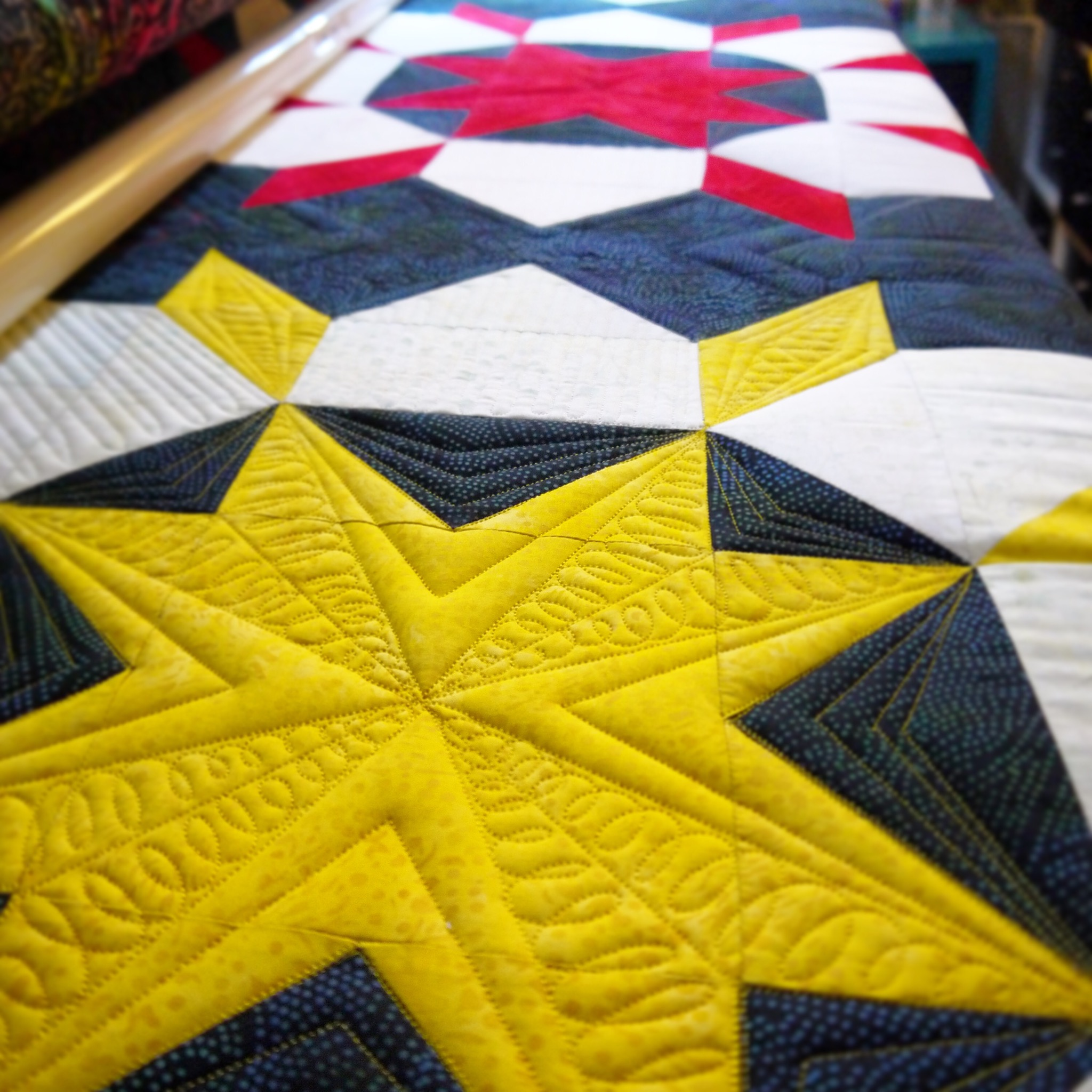 Free Motion Quilting Patterns For Blocks : Quilting Designs for Different Blocks on Pinterest Quilting, Free Motion Quilting and Machine ...